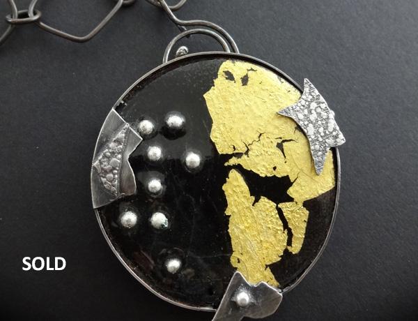 Enamel Pendants | Vaughn Millner Jewelry